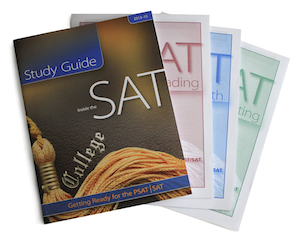 ZAPS Inside the SAT Study Guide and Workout booklets