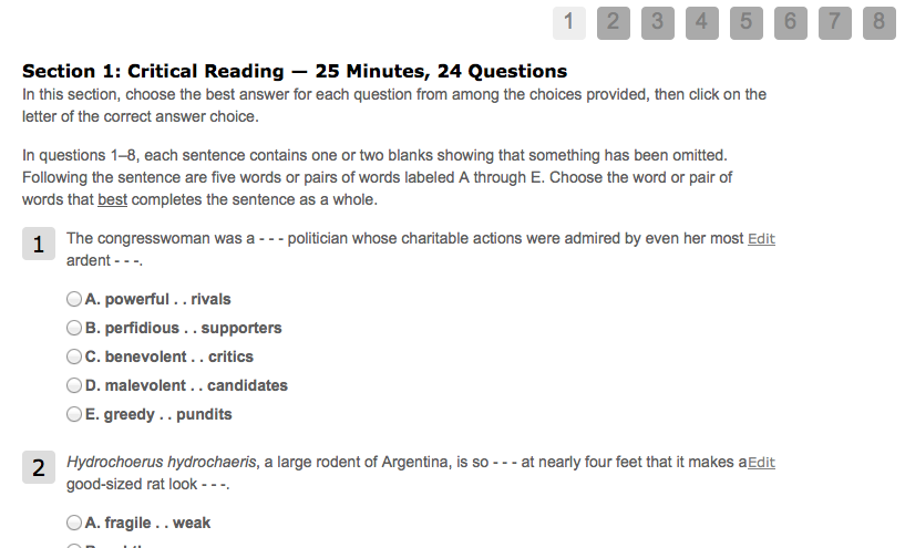 good essay questions for college essays